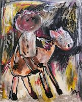 silvia-messerli-People-Men-History-Modern-Age-Abstract-Art-Art-Brut