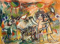silvia-messerli-Fantasy-Emotions-Joy-Modern-Age-Abstract-Art-Art-Brut