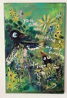 silvia-messerli-Emotions-Love-Animals-Air-Modern-Age-Abstract-Art-Art-Brut
