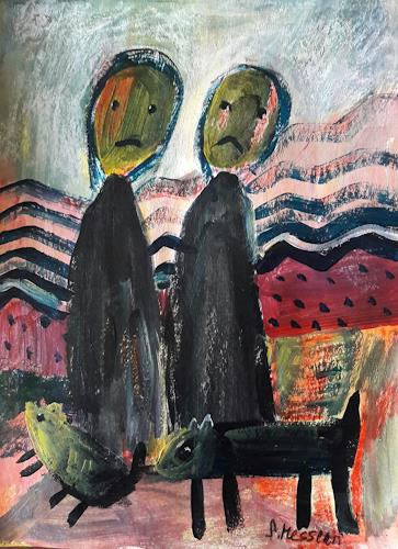 silvia messerli, montags am morgen...:-(, Fantasy, Movement, Art Brut, Abstract Expressionism