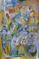 silvia-messerli-Emotions-Fear-Society-Modern-Age-Abstract-Art-Art-Brut