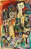 silvia-messerli-Emotions-Horror-Religion-Modern-Age-Abstract-Art-Art-Brut