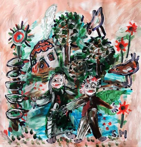 silvia messerli, Hänsel und Gretel, Fantasy, Fairy tales, Art Brut