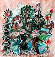 silvia-messerli-Fantasy-Fairy-tales-Modern-Age-Abstract-Art-Art-Brut