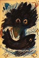 silvia-messerli-Miscellaneous-Animals-Nature-Miscellaneous-Modern-Age-Abstract-Art-Art-Brut