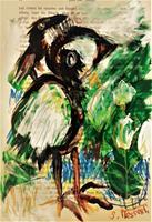 silvia-messerli-Animals-Land-Animals-Air-Modern-Age-Abstract-Art-Art-Brut