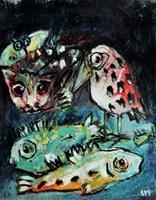 silvia-messerli-Miscellaneous-Animals-Nature-Miscellaneous-Contemporary-Art-Contemporary-Art