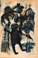 silvia-messerli-People-Group-Emotions-Depression-Contemporary-Art-Contemporary-Art