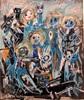 silvia messerli, Zusammenhalten, Emotions: Safety, People: Group, Contemporary Art