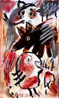 silvia-messerli-Miscellaneous-Emotions-Miscellaneous-Modern-Age-Abstract-Art-Art-Brut