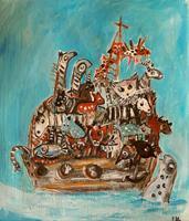 silvia-messerli-Miscellaneous-Animals-Miscellaneous-Contemporary-Art-Contemporary-Art