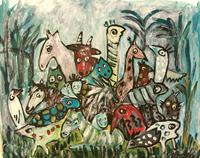 silvia-messerli-Miscellaneous-Animals-Decorative-Art-Contemporary-Art-Contemporary-Art