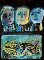 silvia-messerli-Emotions-Joy-People-Group-Contemporary-Art-Contemporary-Art