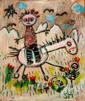 silvia-messerli-Emotions-Joy-Miscellaneous-People-Modern-Age-Abstract-Art-Art-Brut
