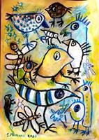 silvia-messerli-Emotions-Joy-Miscellaneous-Contemporary-Art-Contemporary-Art