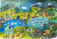 silvia-messerli-Landscapes-Mountains-Miscellaneous-Landscapes-Contemporary-Art-Contemporary-Art