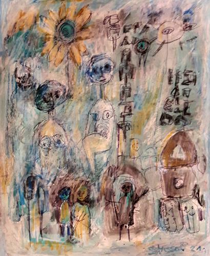silvia messerli, Abwarten mit Unarten, Miscellaneous People, Miscellaneous Emotions, Contemporary Art