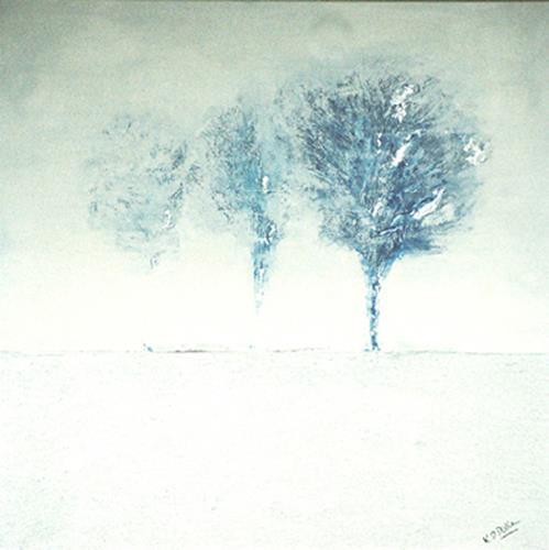 K. P. Dobler, Winterreise, Abstract art, Landscapes: Winter, Contemporary Art