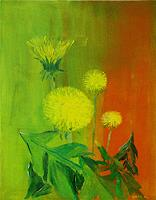 K.-P.-Dobler-Abstract-art-Plants-Flowers-Contemporary-Art-Contemporary-Art