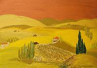 K.-P.-Dobler-Abstract-art-Landscapes-Hills-Modern-Age-Primitive-Art-Naive-Art