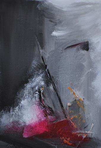 K. P. Dobler, Stürmische See, Abstract art, Abstract Art