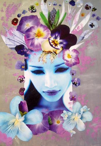 bia, FEE JACINTHE, Fantasy, Decorative Art, Expressionism