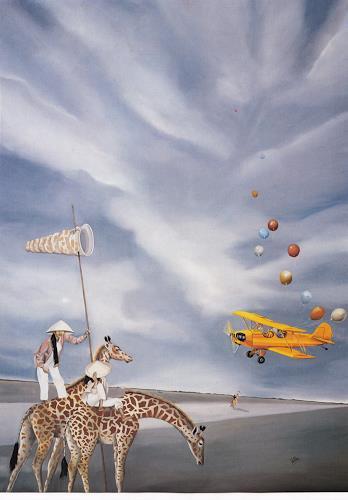 dominique hoffer, MEETING, Fantasy, Contemporary Art