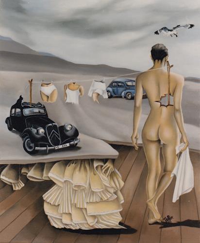 dominique hoffer, LA GRANDE LESSIVE, Fantasy, Contemporary Art, Abstract Expressionism