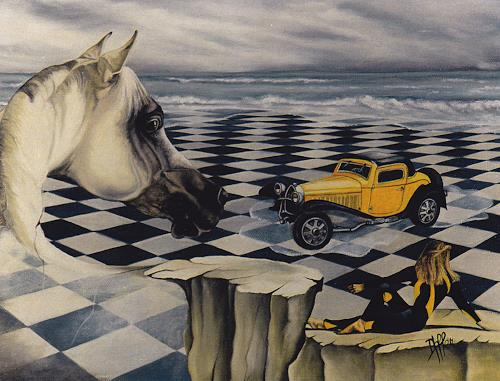 dominique hoffer, L'ENJEU, Fantasy, Contemporary Art
