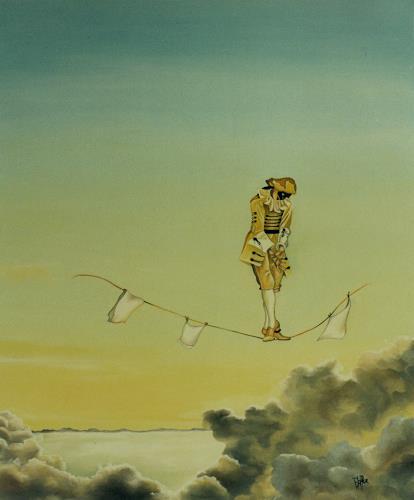 dominique hoffer, L'INCANTATION ATMOSPHERIQUE, Fantasy, Contemporary Art