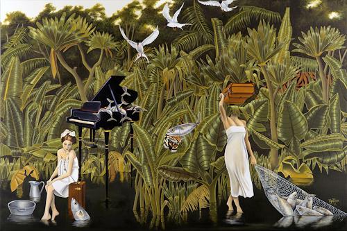 dominique hoffer, Le Sucre des Santolines, Fairy tales, Contemporary Art, Expressionism