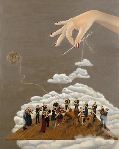 dominique hoffer, Cantabile, Fantasy, Post-Surrealism, Abstract Expressionism