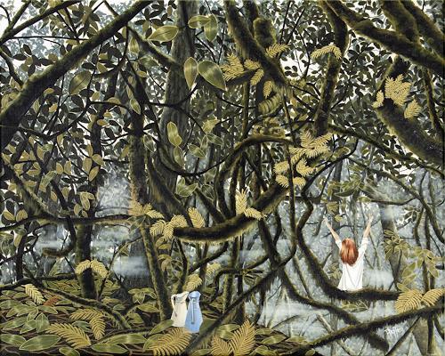 dominique hoffer, Saisir le Jour, Fantasy, Post-Surrealism