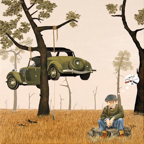dominique hoffer, La Mécanique des Influences, People: Children, Post-Surrealism