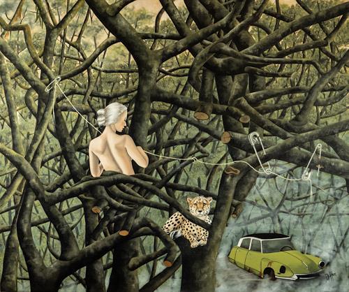 dominique hoffer, Quand les Pièges ne se refermeront plus, Fantasy, Post-Surrealism
