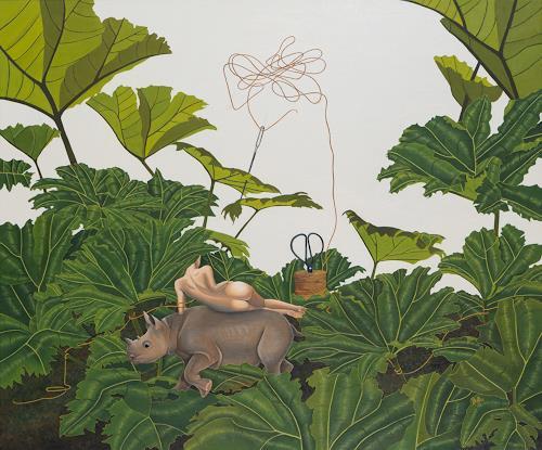 dominique hoffer, Chronique d'une disparition annoncée, Fantasy, Post-Surrealism
