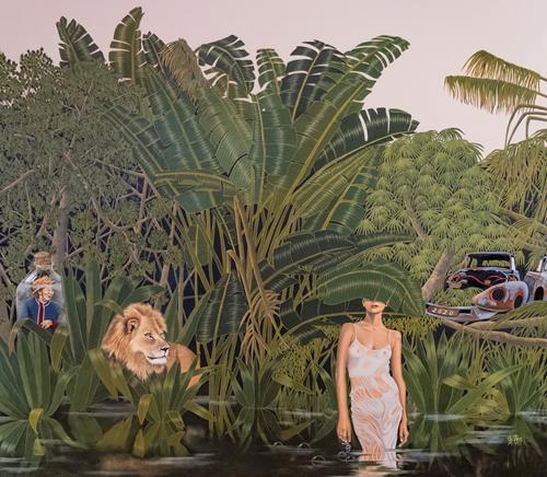 dominique hoffer, La cendre des paroles tues, Fantasy, Contemporary Art, Expressionism