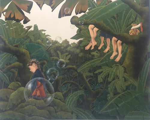 dominique hoffer, L'enfance est une croisière, Fantasy, Post-Surrealism