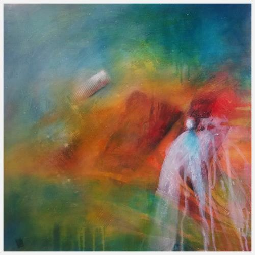Romy Latscha, entdecken, People: Group, Fantasy, Contemporary Art, Abstract Expressionism