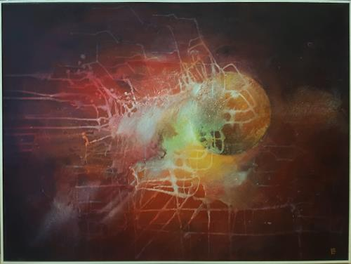 romy latscha, Energie, Nature, Outer space, Contemporary Art, Abstract Expressionism