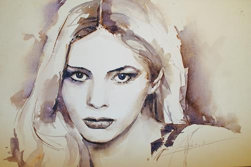 webo, warum?, People: Women, Emotions: Grief, Expressionism