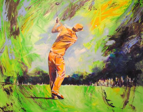 webo, Golf 2, Sports, People: Men, Abstract Expressionism