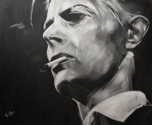 webo, David Bowie, People: Faces, People: Portraits, Expressive Realism, Expressionism