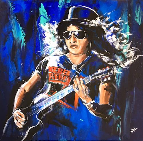 webo, Slash, Music: Musicians, People: Portraits, Abstract Art