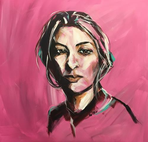webo, Alissia, People: Women, People: Portraits, Abstract Art, Expressionism