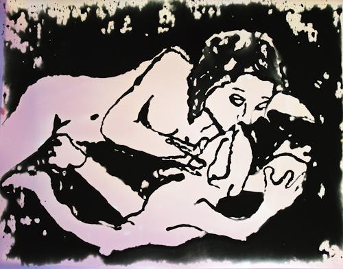 Klaus Ackerer, the lonly frog, Miscellaneous Erotic motifs