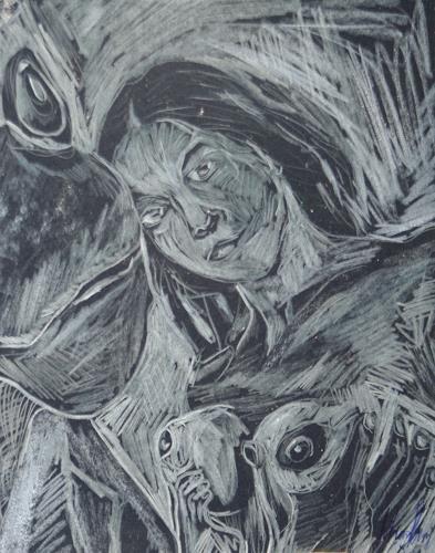 Klaus Ackerer, N/T, Miscellaneous Erotic motifs