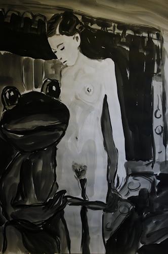 Klaus Ackerer, N/T, Nude/Erotic motifs, Historism