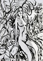 Klaus-Ackerer-Nude-Erotic-motifs-Modern-Age-Abstract-Art