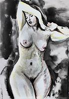 Klaus-Ackerer-Erotic-motifs-Female-nudes-Modern-Age-Abstract-Art